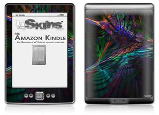 Ruptured Space - Decal Style Skin (fits 4th Gen Kindle with 6inch display and no keyboard)