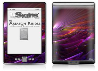 Swish - Decal Style Skin (fits 4th Gen Kindle with 6inch display and no keyboard)