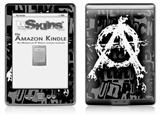 Anarchy - Decal Style Skin (fits 4th Gen Kindle with 6inch display and no keyboard)
