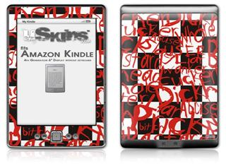 Insults - Decal Style Skin (fits 4th Gen Kindle with 6inch display and no keyboard)