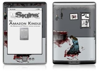 With Excessive Devotion - Decal Style Skin (fits 4th Gen Kindle with 6inch display and no keyboard)