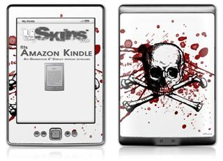 Bleed so Pretty - Decal Style Skin (fits 4th Gen Kindle with 6inch display and no keyboard)