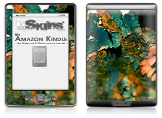 Enclosing The System - Decal Style Skin (fits 4th Gen Kindle with 6inch display and no keyboard)