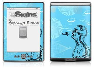 The Beautifully Paranoid - Decal Style Skin (fits 4th Gen Kindle with 6inch display and no keyboard)