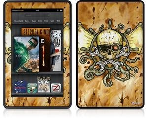 Amazon Kindle Fire (Original) Decal Style Skin - Airship Pirate