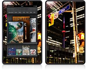 Amazon Kindle Fire (Original) Decal Style Skin - Bay St Toronto