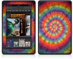 Amazon Kindle Fire (Original) Decal Style Skin - Tie Dye Swirl 107