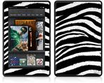Amazon Kindle Fire (Original) Decal Style Skin - Zebra