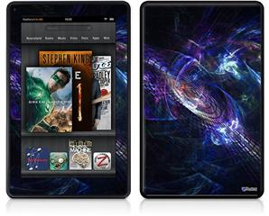 Amazon Kindle Fire (Original) Decal Style Skin - Black Hole