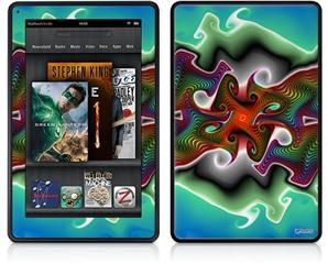 Amazon Kindle Fire (Original) Decal Style Skin - Butterfly