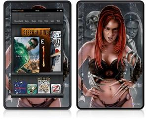 Amazon Kindle Fire (Original) Decal Style Skin - Deadland