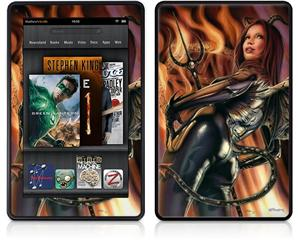 Amazon Kindle Fire (Original) Decal Style Skin - Devil Girl