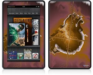 Amazon Kindle Fire (Original) Decal Style Skin - Comet Nucleus