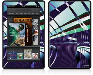 Amazon Kindle Fire (Original) Decal Style Skin - Concourse