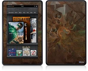 Amazon Kindle Fire (Original) Decal Style Skin - Decay
