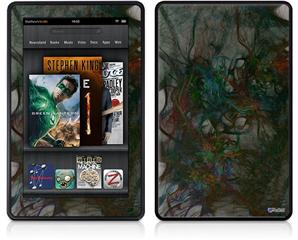 Amazon Kindle Fire (Original) Decal Style Skin - Famous Tumors