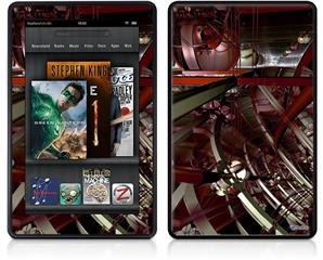 Amazon Kindle Fire (Original) Decal Style Skin - Domain Wall