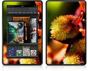 Amazon Kindle Fire (Original) Decal Style Skin - Budding Flowers