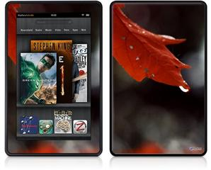 Amazon Kindle Fire (Original) Decal Style Skin - Dripping Leaves