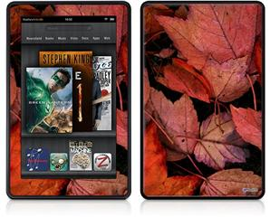 Amazon Kindle Fire (Original) Decal Style Skin - Fall Tapestry