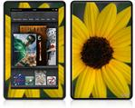 Amazon Kindle Fire (Original) Decal Style Skin - Yellow Daisy