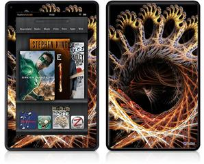 Amazon Kindle Fire (Original) Decal Style Skin - Enter Here
