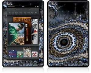 Amazon Kindle Fire (Original) Decal Style Skin - Eye Of The Storm