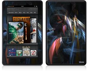 Amazon Kindle Fire (Original) Decal Style Skin - Darkness Stirs