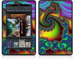 Amazon Kindle Fire (Original) Decal Style Skin - Carnival