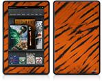 Amazon Kindle Fire (Original) Decal Style Skin - Tie Dye Bengal Belly Stripes
