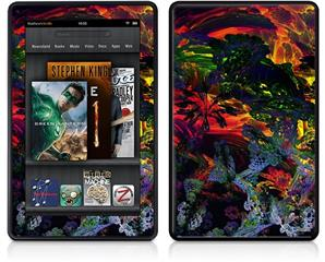 Amazon Kindle Fire (Original) Decal Style Skin - 6D
