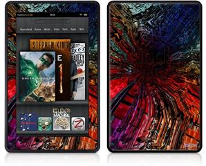 Amazon Kindle Fire (Original) Decal Style Skin - Architectural