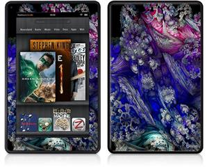 Amazon Kindle Fire (Original) Decal Style Skin - Flowery