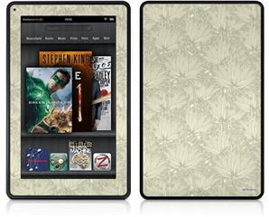 Amazon Kindle Fire (Original) Decal Style Skin - Flowers Pattern 11