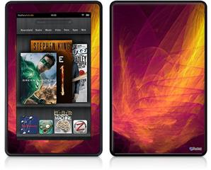 Amazon Kindle Fire (Original) Decal Style Skin - Eruption