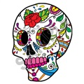 Sugar Skull 26 18x24 inch - Fabric Wall Skin Decal