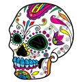Sugar Skull 30 20x24 inch - Fabric Wall Skin Decal