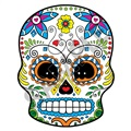 Sugar Skull 48 38x48 inch - Fabric Wall Skin Decal