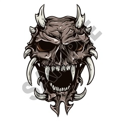 Skull 02 31x48 inch - Fabric Wall Skin Decal