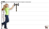 Medieval Weapons Battle Axe 01 15x24 inch - Fabric Wall Skin Decal